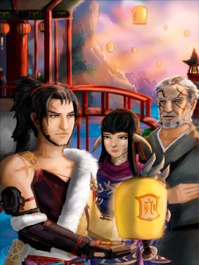 Ot3: Hien, Yugiri, and Gosetsu