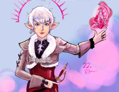 Alisaie - Inktober colored