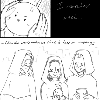 Fake comic lead (Amaurot)