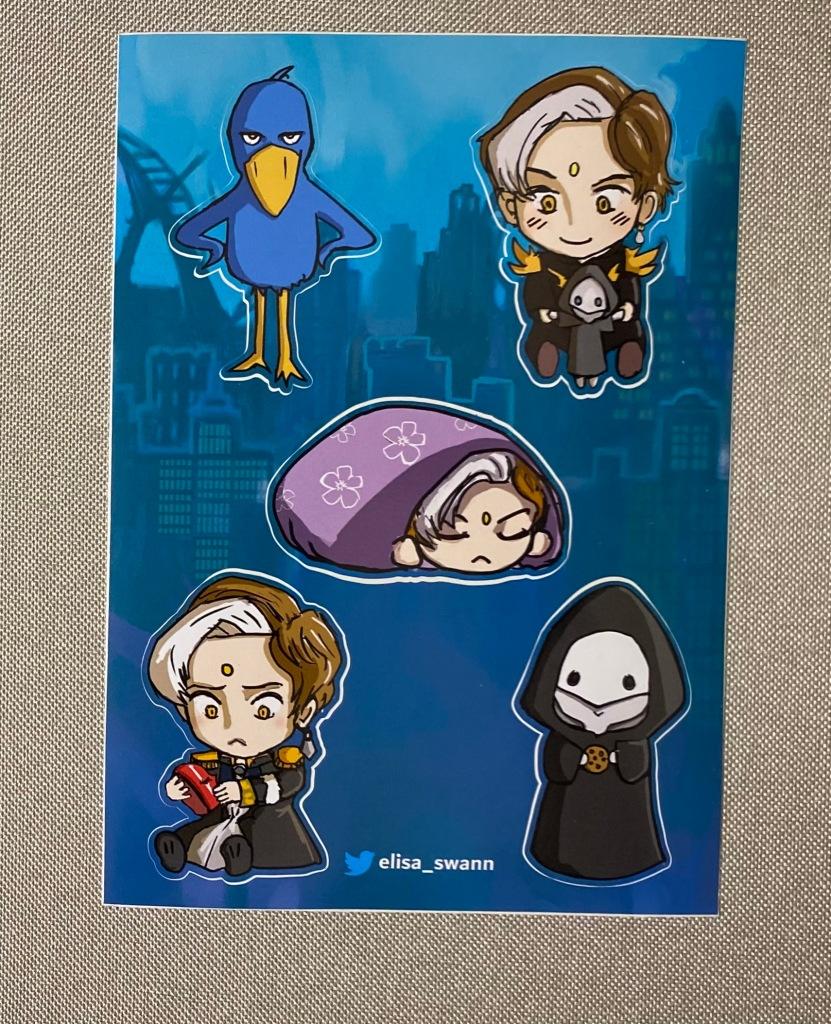 2020 Chibi Emet Sticker Sheet